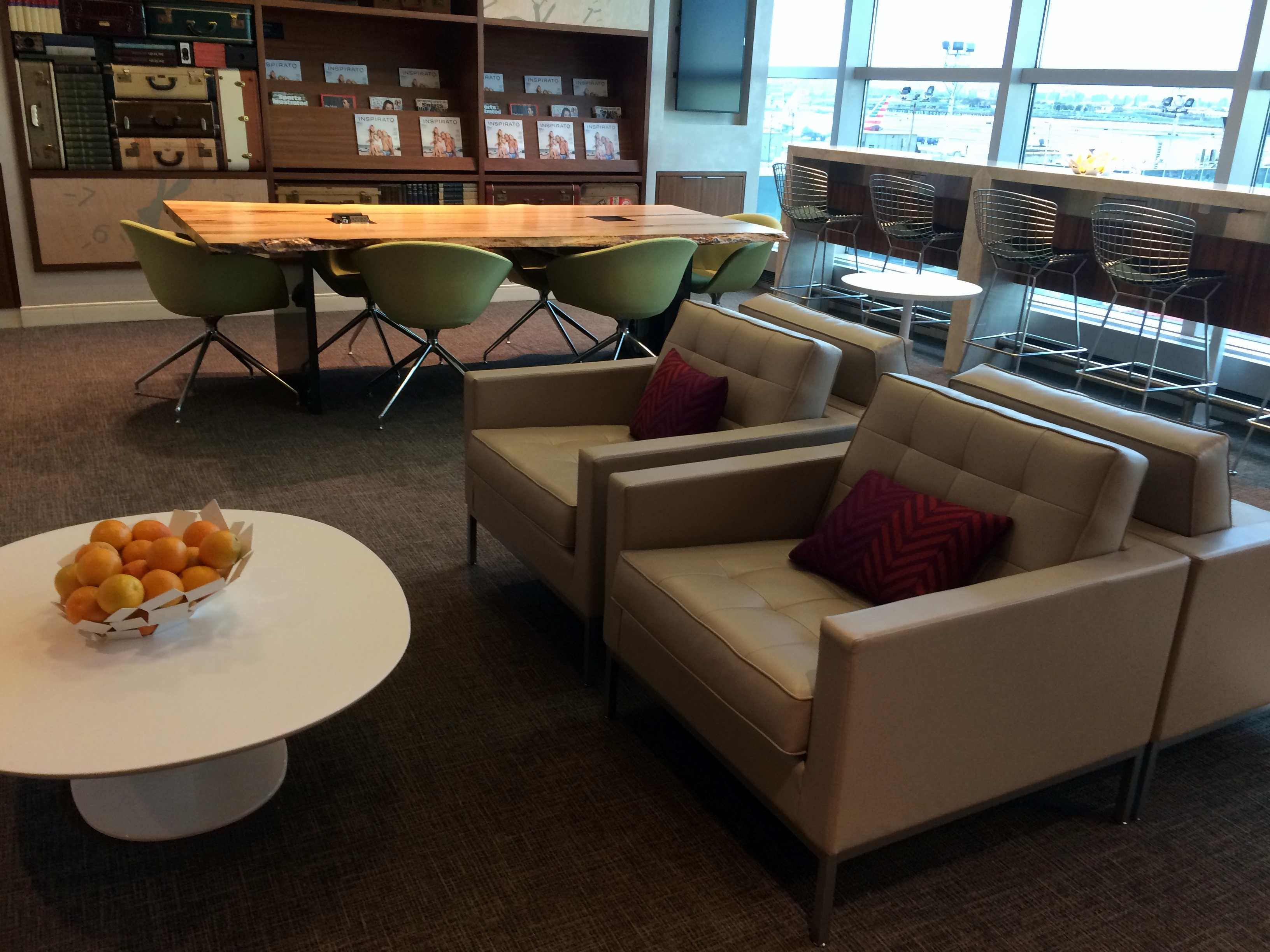 American Express Centurion Lounge New York